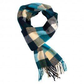 Rutiga scarf i mörka färger