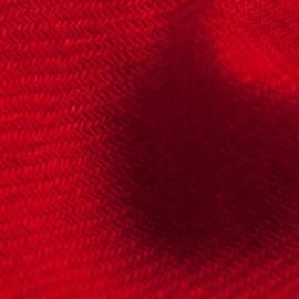 Mörkröd kypertvävd pashmina sjal