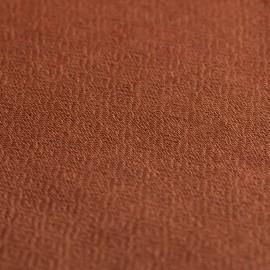 Kastanjebrun diamantvävd pashmina sjal