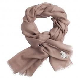 Granitgråt pashmina sjal i 2 ply kashmir twill