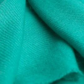 Turkosfärgad pashmina halsduk i ren kashmir