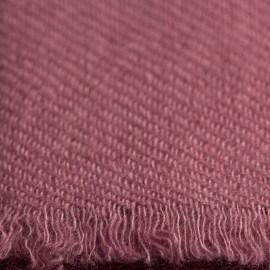 Rödviolett pashmina halsduk i ren kashmir