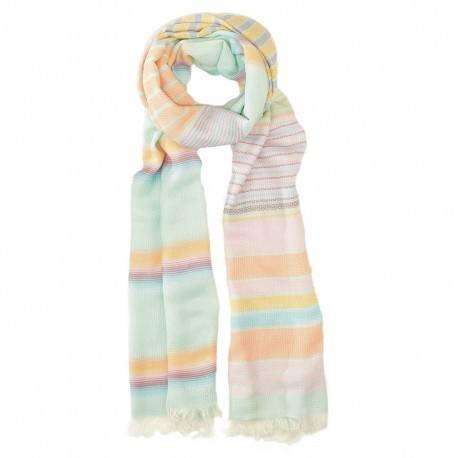 Bomull halsduk i pastellfärger