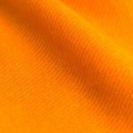 Orange kypertvävd pashmina sjal
