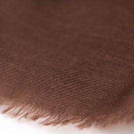 Svartbrun 2-trådigt pashmina sjal