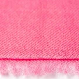 Rosa pashmina sjal i 2-trädigt kypert