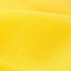 Gul pashmina halsduk i 2-trådigt kypert
