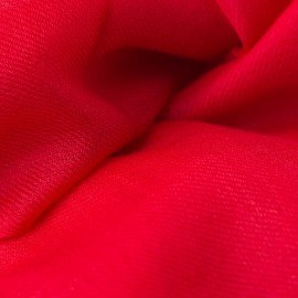 Mörkröd pashmina sjal i 2-trådigt kypert