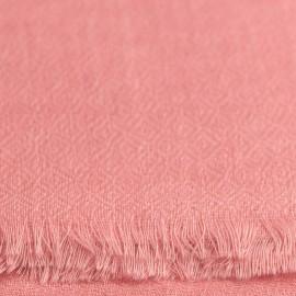 Rosa diamant vävd pashmina sjal