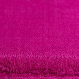 Violet pashmina halsduk vävd i diamantmönster