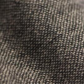 Kashmir halsduk i grå / sort melange